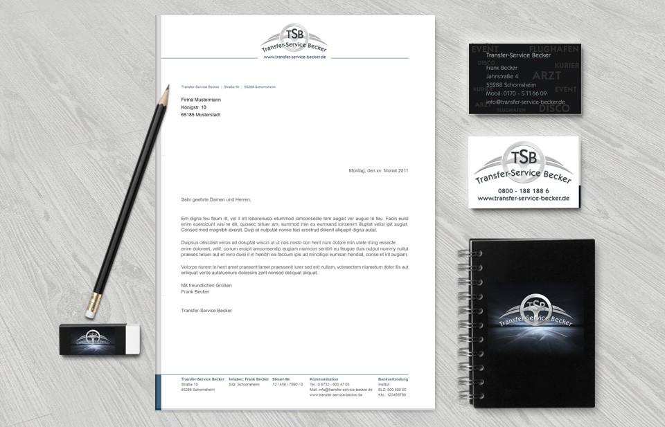 TSB-Geschäftsausstattung